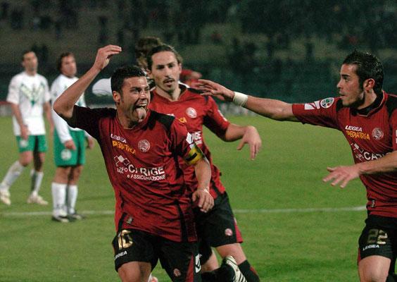 Tavano Goal Livorno-Sassuolo 20.12.08